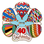 Sky Adventures Balloon pin