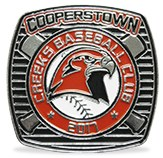 Cooperstown lapel pin