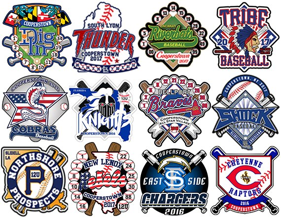 Cooperstown Pins