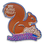 Destination Imagination Custom Pin