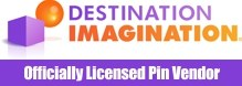 Officially Licensed Destination Imagination Pins