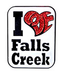 Custom Falls Creek pins
