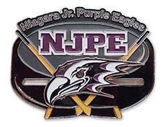 Niagara Jr Purple Eagles Hockey Pin