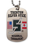 Trenton Silver Stick Dog Tag