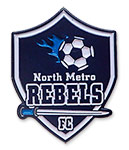 North Metro Rebels Soccer Pin