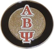 Alpha Beta Psi pins