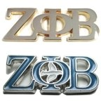 custom sorority pins zeta phi beta