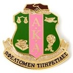 diestruck sorority pin alpha kappa alpha