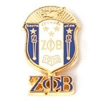 sorority pins zeta phi beta