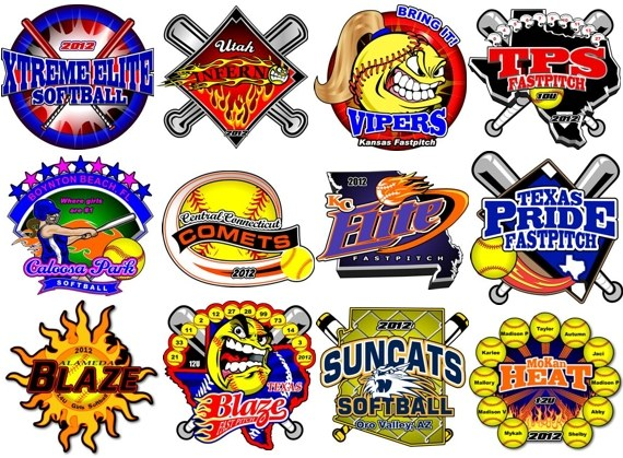 USSSA Fastpitch World Series Pins