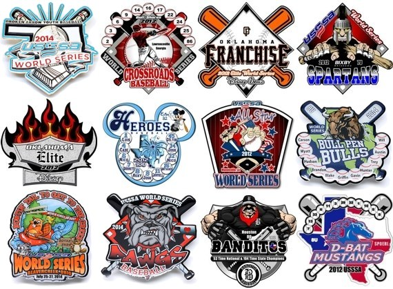 USSSA World Series Pins